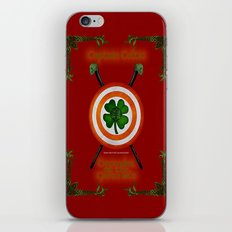 Captain Celtic iPhone & iPod Skin