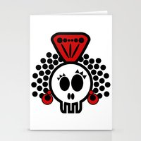 ***I´LL CARRY  on DANCING FLAMENCO even in  the GRAVE*** Stationery Cards