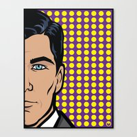 Sterling Archer Of ISIS.… Canvas Print
