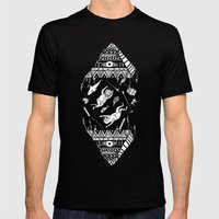 On How The Mystical Levi… Mens Fitted Tee Black SMALL