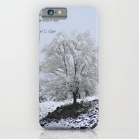 iPhone & iPod Case featuring Winter Tree by Jennifer L. Craft