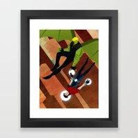 Hulk/Wicc Fan Fic (Only Real) Framed Art Print