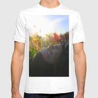 Bliss 2 Mens Fitted Tee White SMALL
