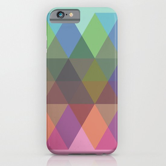 Fig. 040 Hexagon Shapes iPhone & iPod Case