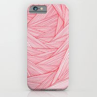 iPhone & iPod Case featuring Red Feels by Sarah J Bierman