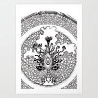 Semilla Art Print