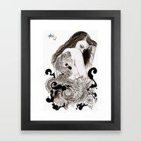The Dragon's Gate Framed Art Print