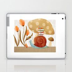 The Bookish Forest: Snail Laptop & iPad Skin