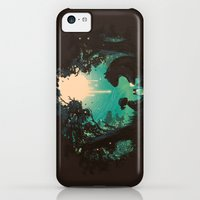 iPhone 5c Cases featuring The Conversationalist by Budi Kwan