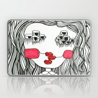 Monster With Cheeks Laptop & iPad Skin