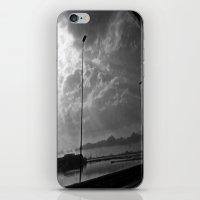 World In Black&white iPhone & iPod Skin