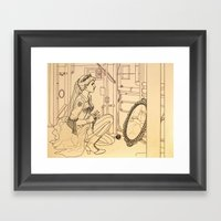 Alyss Heart Framed Art Print