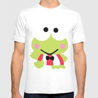 Sanrio - Keroppi Mens Fitted Tee White SMALL