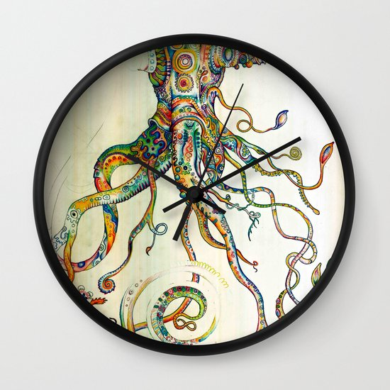 The Impossible Specimen Wall Clock