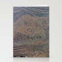 Impact Crater From Space… Stationery Cards