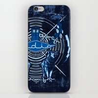 Bad Wolf Radio iPhone & iPod Skin