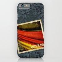 STICKER OF GERMANY flag iPhone 6 Slim Case