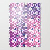 Stars Pattern #001 Canvas Print