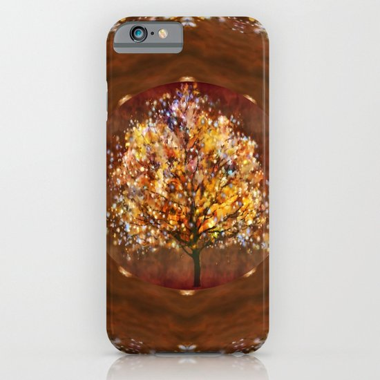Starry tree iPhone & iPod Case