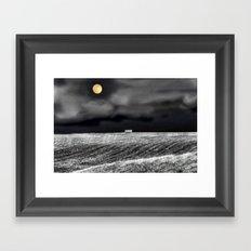 Feeling Lonely Framed Art Print