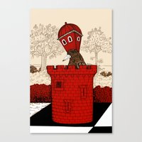 The Rook Canvas Print