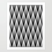 Silvery Art Print