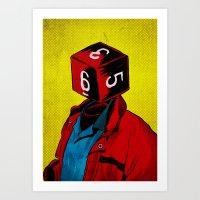 D6 Art Print