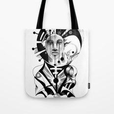 Pencil Sketch Tote Bag