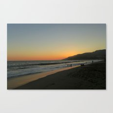LA Sunset Canvas Print