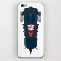 Pitbull Hoverboard iPhone & iPod Skin