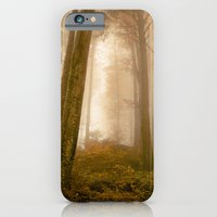 iPhone & iPod Case featuring The Magic Forest by Hereandnow.ch