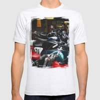 Motorcycles Mens Fitted Tee Ash Grey SMALL