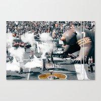 Chicago Bears - Bear Down Canvas Print