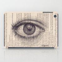Eye in a Book iPad Case