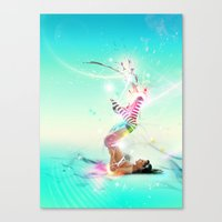 Burst Canvas Print