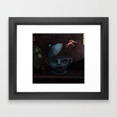 Unlikely Escape. Framed Art Print