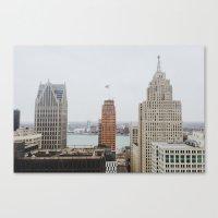 Architectual Variety - D… Canvas Print