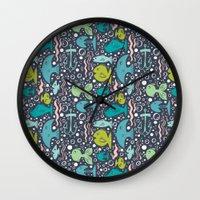 Fishy Fishy Wall Clock