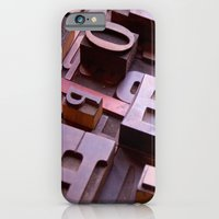 iPhone & iPod Case featuring 3D Letters - Typography Photography™ by Typography Photography™