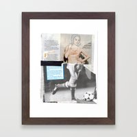 Football Fashion #4 Framed Art Print