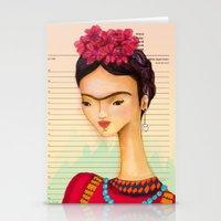 Icons / Frida Stationery Cards