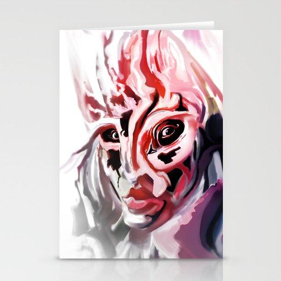 Masked Stationery Card