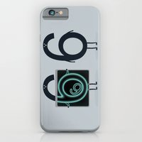 iPhone & iPod Case featuring Numerical Horror Story by filiskun
