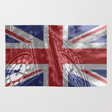 Big Ben - UK Flag Rug