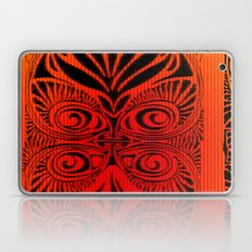 Red Fans and Faces Laptop & iPad Skin