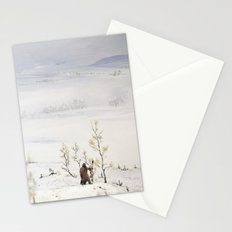 Tom Feiler Solitary Trapper Stationery Cards