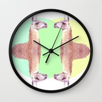 Falling In A Dream  Wall Clock