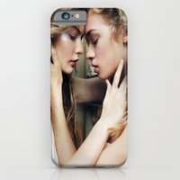 iPhone & iPod Case featuring Roxy & Claire by Caitlin Bellah
