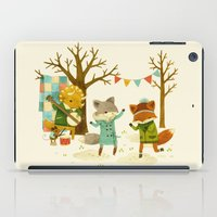 Critters: Spring Dancing iPad Case
