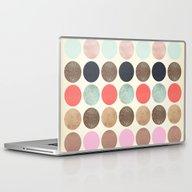 Laptop & iPad Skin featuring DG Dots - Parisian by Dawn Gardner